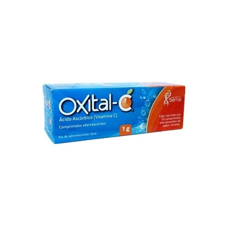 OXITAL-C (ASCORBIC ACID) 1G 10 TABLETS