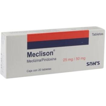 meclizine 25mg para que se usa