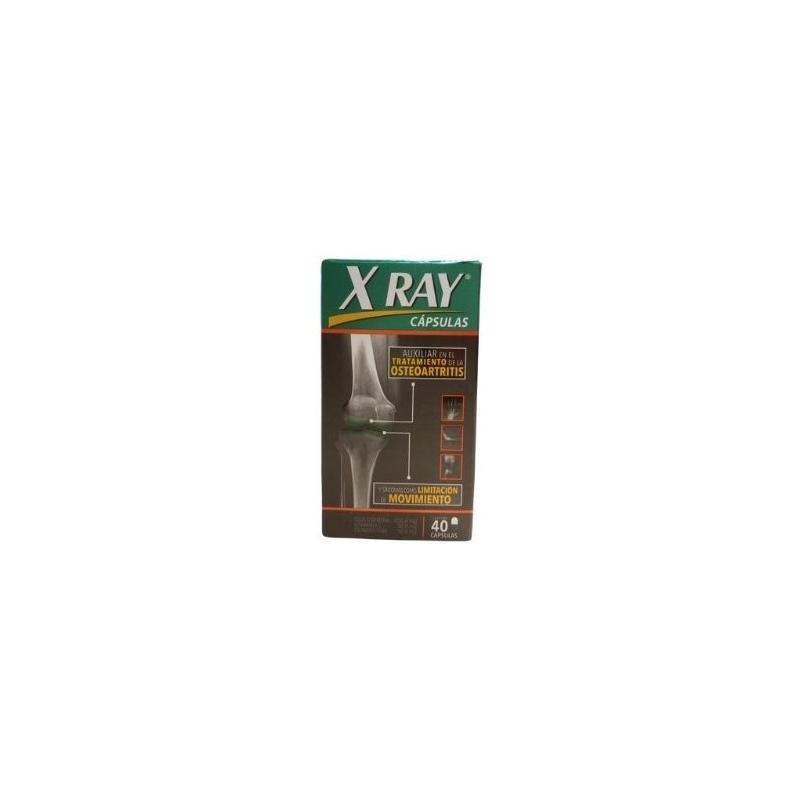 X-RAY (GLUCOSAMINE, VITAMIN C, CHONDROITIN) 450MG, 30MG, 10MG 40 CAPSULES