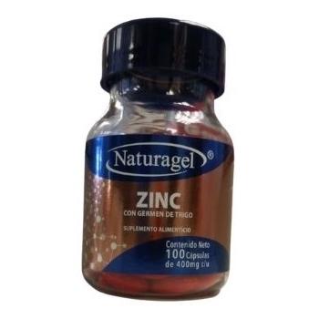 ZINC (ZINC) 400 MG  100 CAPSULAS