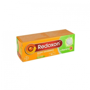 REDOXON (ACIDO ASCORBICO) SABOR LIMON 10 TABLETAS DE 1G