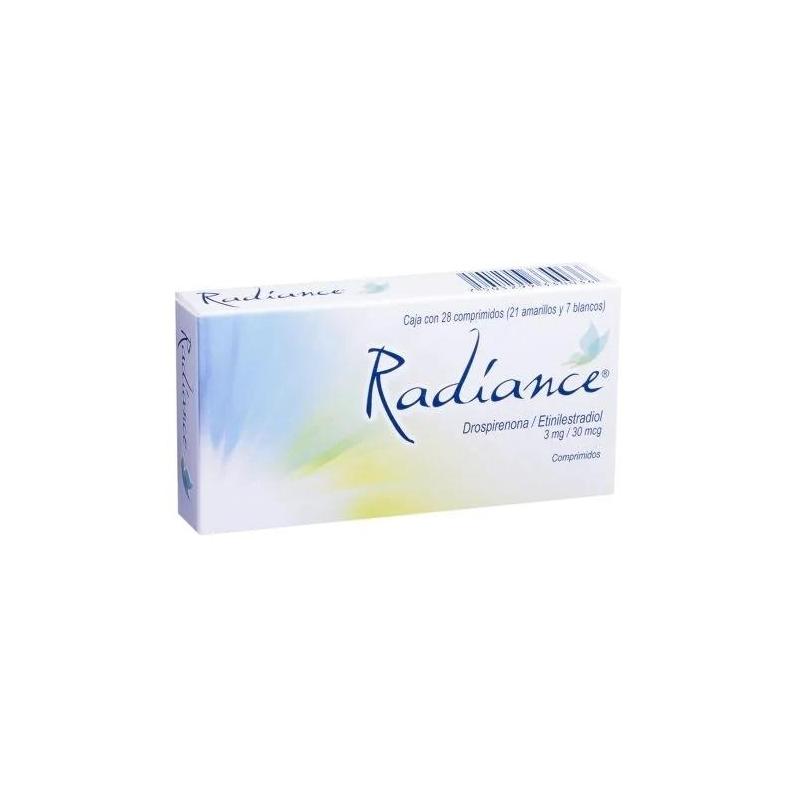 RADIANCE (DROSPIRENONA / ETINILESTRADIOL 28TAB