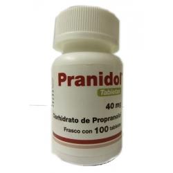 PRANIDOL (PROPRANOLOL) 40MG 100TAB
