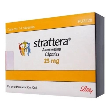 Without Prescription Strattera 18 mg Pills Online