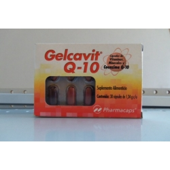 GELCAVIT Q-10 (MULTIVITAMINS AND MINERALS) 30TAB