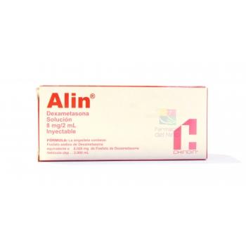 ALIN (DEXAMETASONA) 8MG/2ML SOLUCION INYECTABLE