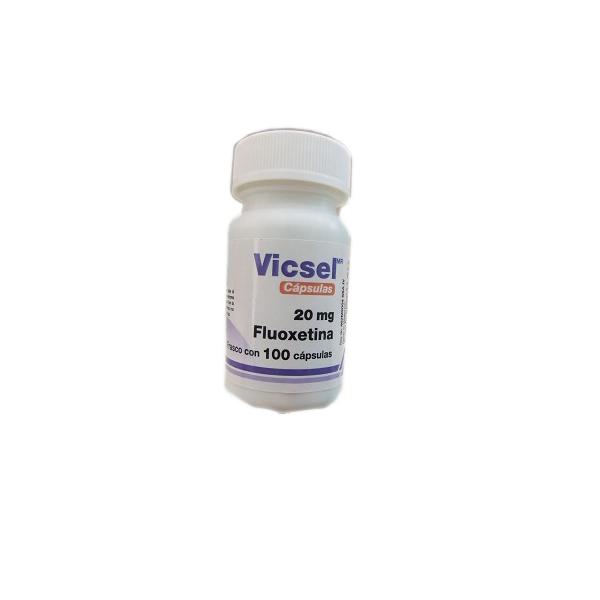VICSEL (FLUOXETINA) 20 MG 100 CAPS