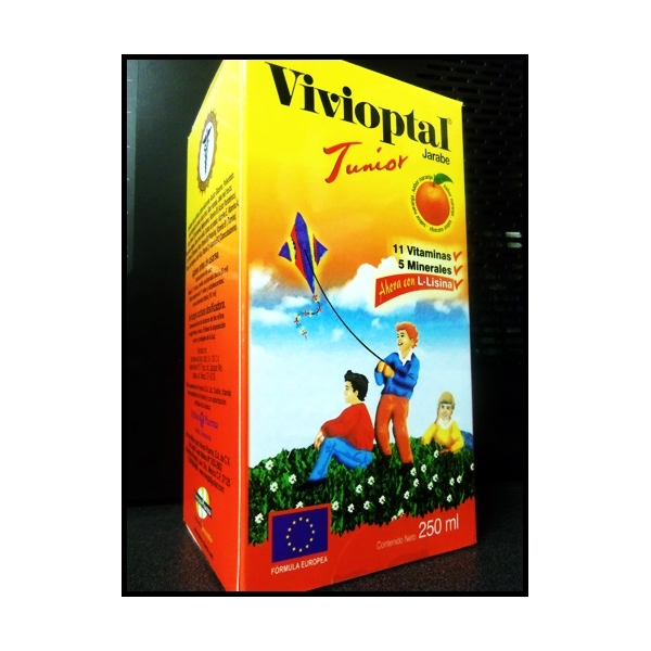 VIVIOPTAL SUSPENSION INFANTIL 250ML