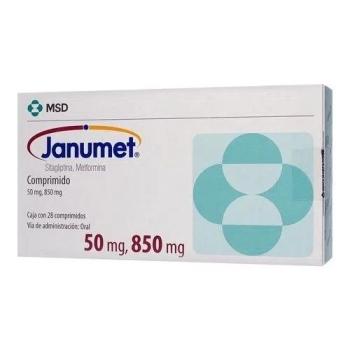 JANUMET (SITAGLIPTINA/METFORMINA) 28 COMP 50/850MG