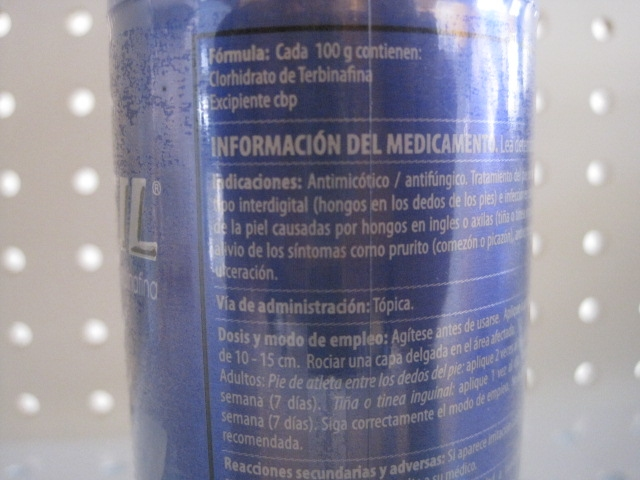 LAMISIL (TERBINAFINA) 1% 85G