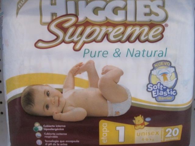 HUGGIES SUPREME ETAPA1 20PANALES