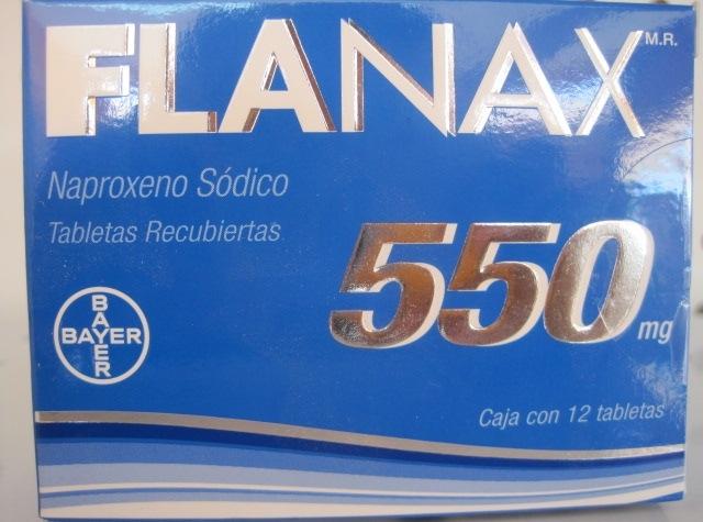 FLANAX (NAPROXENO SODICO) 550MG 12TAB