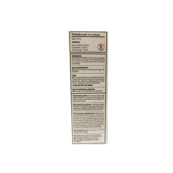 DERMOPRADA (IODINE) TOPICAL SOLUTION 10ML