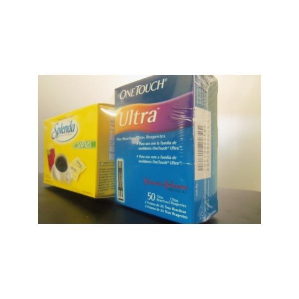 ONETOUCH ULTRA TIRAS REACTIVAS C/50