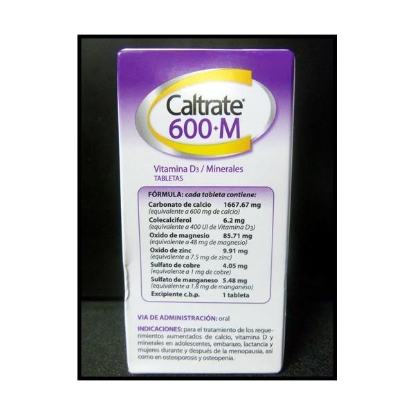 CALTRATE +M  600 30TAB