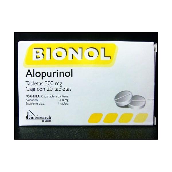 BIONOL (Alopurinol) 300mg con 20tab
