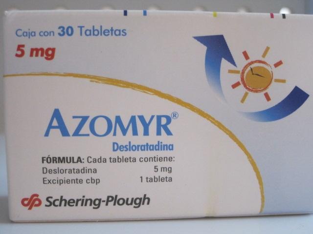 AZOMYR (DESLORATADINA) 5MG 30TAB