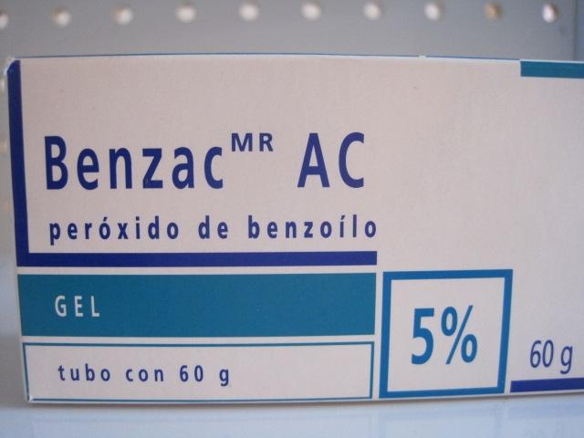 BENZAC  AC (PEROXIDO DE BENZOILO) 5% 60G