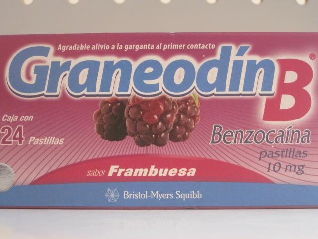 GRANEODIN-B (BENZOCAINE) 10MG 24TAB TANGERINE